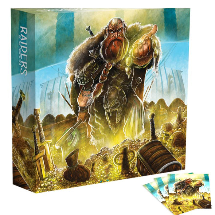 PRE-ORDER | Raiders of the North Sea: Collector's Box