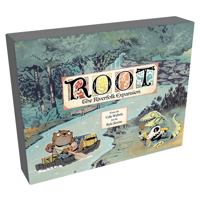 Root: The Riverfolk Expansion-LVLUP GAMES