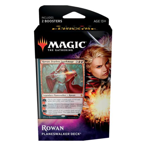 Magic the Gathering: The Throne of Eldraine Planeswalker Deck-Rowan-LVLUP GAMES