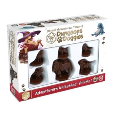 Animal Adventures: Tales of Dungeons & Doggies - Adventurers Unleashed, Volume 1-LVLUP GAMES