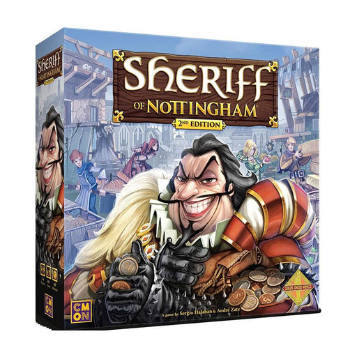 PRE-ORDER | Sheriff of Nottingham (2nd Edition)-LVLUP GAMES