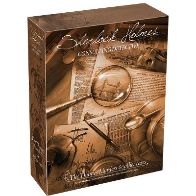 Sherlock Holmes Consulting Detective: The Thames Murders & Other Cases-LVLUP GAMES