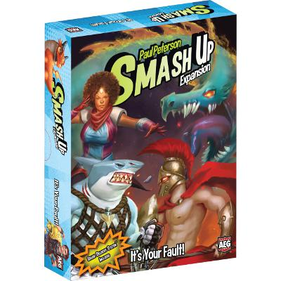 Smash Up: It's Your Fault!-LVLUP GAMES
