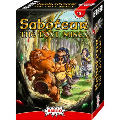 Saboteur: The Lost Mines-LVLUP GAMES