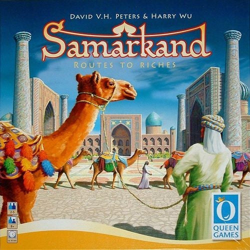 Samarkand: Routes to Riches-LVLUP GAMES