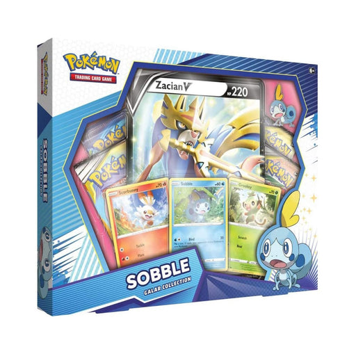 Pokemon: Sword & Shield Galar Collection Box - Sobble-Sobble / Zacian-LVLUP GAMES