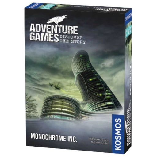 Adventure Games: Monochrome Inc-LVLUP GAMES