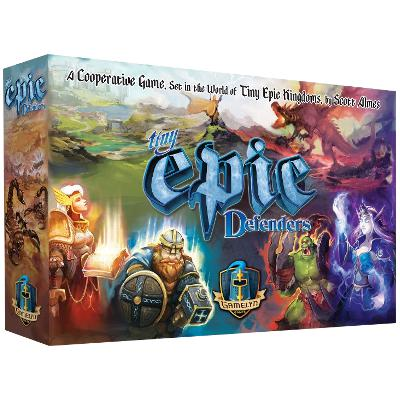 Tiny Epic Defenders (2nd Edition)-LVLUP GAMES