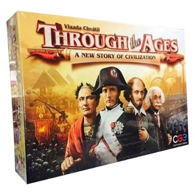 Through the Ages: A New Story of Civilization-LVLUP GAMES