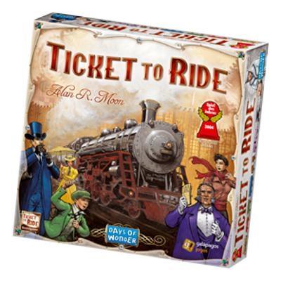 Ticket to Ride-LVLUP GAMES