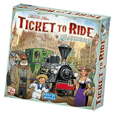 Ticket to Ride: Germany-LVLUP GAMES