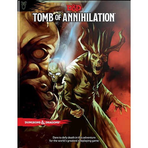D&D (5th Edition) Tomb of Annihilation Hardcover RPG Book-LVLUP GAMES