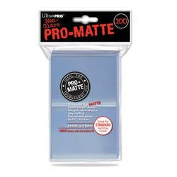 Ultra Pro: Pro-Matte Sleeves, Clear 100ct-LVLUP GAMES