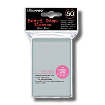 Ultra Pro: Special Size 54mm x 80mm Sleeves, 50ct Clear-LVLUP GAMES