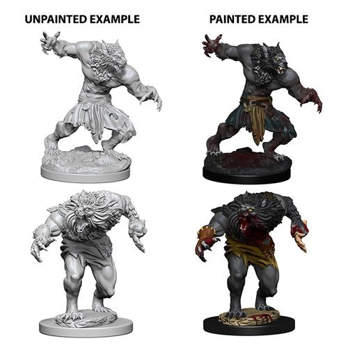 D&D Nolzur's Marvelous Miniatures:  Werewolves -LVLUP GAMES