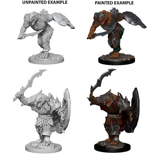 D&D Nolzur's Marvelous Miniatures:  Dragonborn Male Fighter-LVLUP GAMES