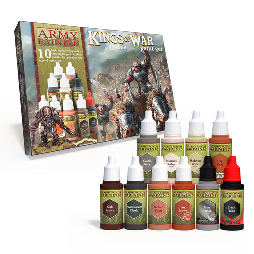 The Army Painter: Warpaints - Kings Of War Ogres Paint Set-LVLUP GAMES