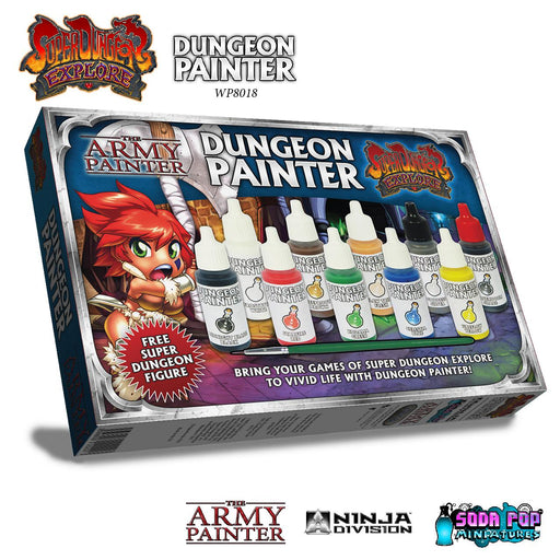 The Army Painter: Warpaints - Super Dungeon Explore Dungeon Painter Set-LVLUP GAMES