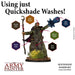 The Army Painter: Warpaints - Quickshade Washes Set -LVLUP GAMES