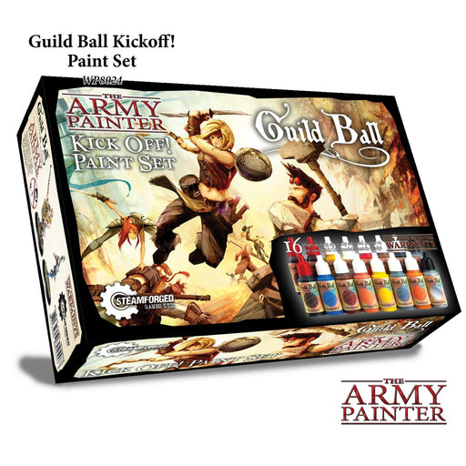 The Army Painter: Warpaints -  Guild Ball Kick Off! Paint Set -LVLUP GAMES