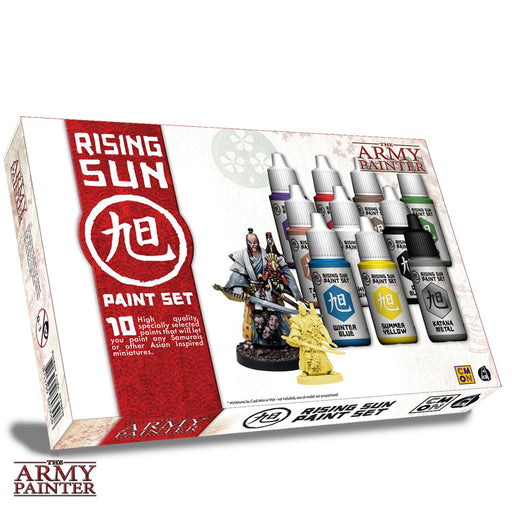 The Army Painter: Warpaints - Rising Sun Paint Set -LVLUP GAMES