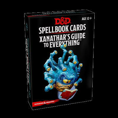 D&D Spellbook Cards-Xanathar's Guide to Everything-LVLUP GAMES