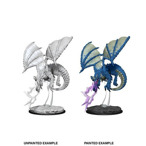 D&D Nolzur's Marvelous Miniatures:  Young Blue Dragon -LVLUP GAMES