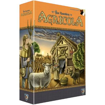 Agricola (Revised Edition)-LVLUP GAMES