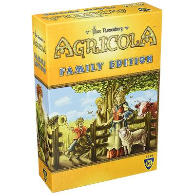 Agricola Family Edition-LVLUP GAMES
