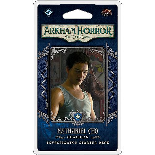 PRE-ORDER | Arkham Horror LCG: Nathaniel Cho Investigator Deck-LVLUP GAMES