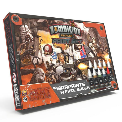 The Army Painter: Warpaints - Zombicide Invader Paints Set -LVLUP GAMES