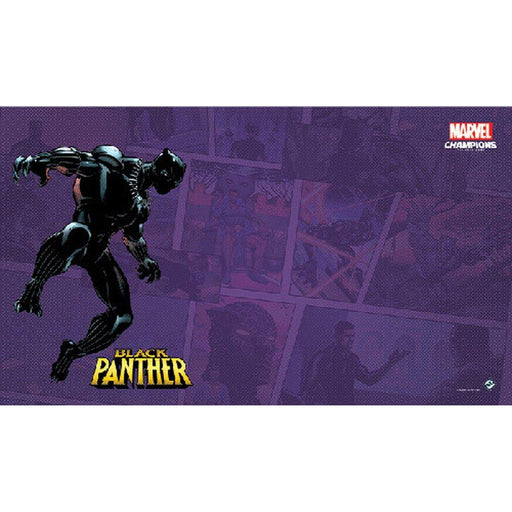 Marvel Champions LCG: Black Panther Game Mat-LVLUP GAMES