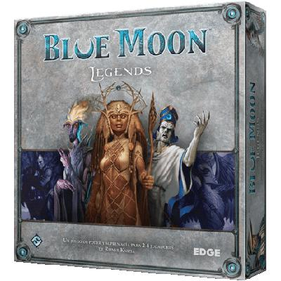 Blue Moon Legends (Out of Print)-LVLUP GAMES