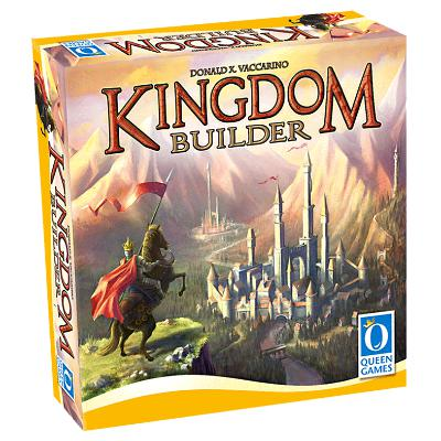 Kingdom Builder board game published by Queen Games