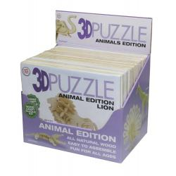 3D Puzzle: Assorted Animals