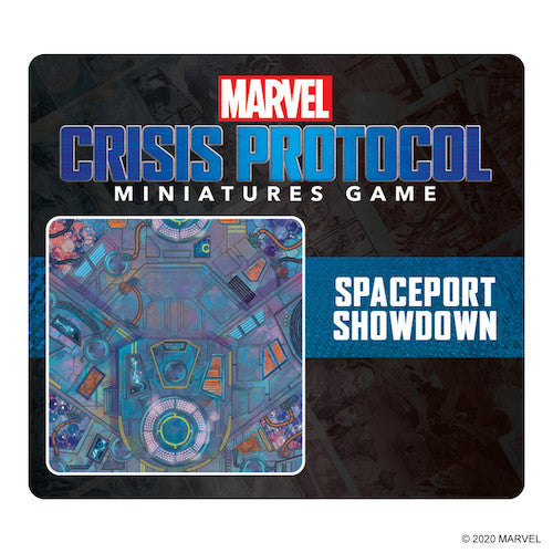 Marvel Crisis Protocol: Playmat Spaceport Showdown