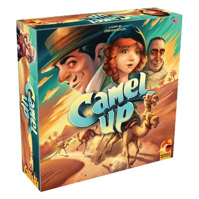 Camel Up (Second Edition)-LVLUP GAMES