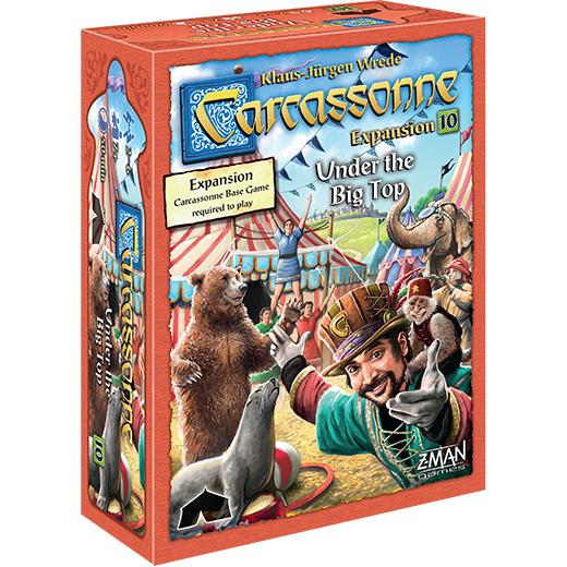 Carcassonne: Under The Big Top-LVLUP GAMES