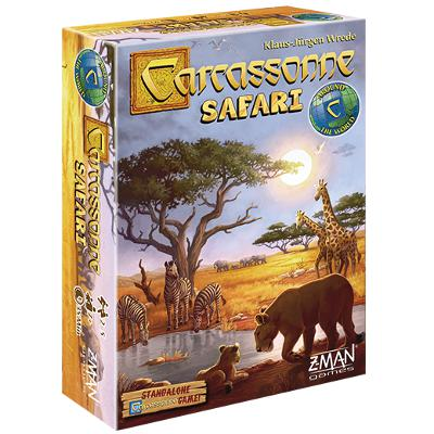 Carcassonne: Safari-LVLUP GAMES