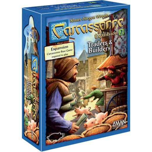 Carcassonne: Traders & Builders-LVLUP GAMES