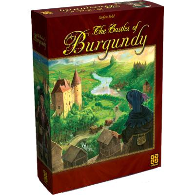 The Castles of Burgundy-LVLUP GAMES