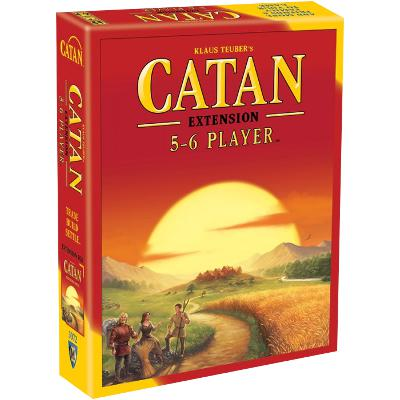 Catan: 5-6 Player Extension-LVLUP GAMES