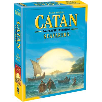 Catan: Seafarers - 5-6 Player Extension-LVLUP GAMES