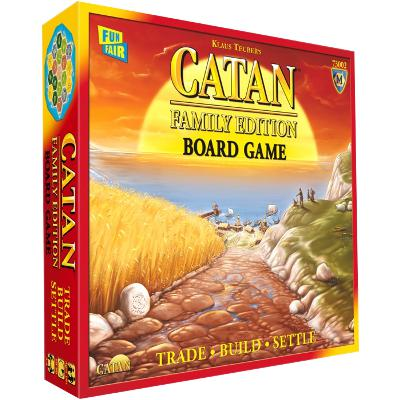 Catan: Family Edition-LVLUP GAMES