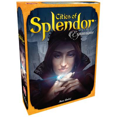 Splendor: Cities of Splendor-LVLUP GAMES