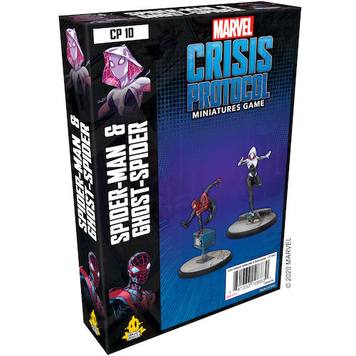 Marvel Crisis Protocol: Ghost-Spider and Spider-Man Character Pack