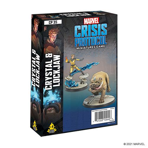 Marvel Crisis Protocol: Crystal and Lockjaw Character Pack