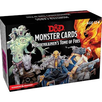 D&D Monster Cards-Mordenkainen's Tome of Foes-LVLUP GAMES