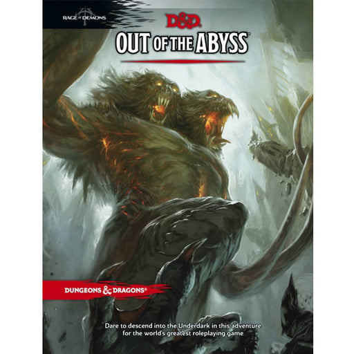 D&D (5th Edition) Rage of Demons: Out of the Abyss Hardcover RPG Book-LVLUP GAMES