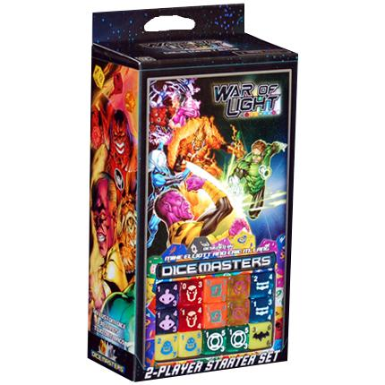 Dice Masters: DC War of Light Starter Set-LVLUP GAMES